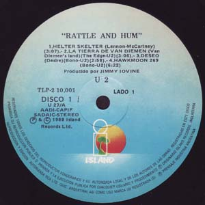 Rattle And Hum - U2 Collector